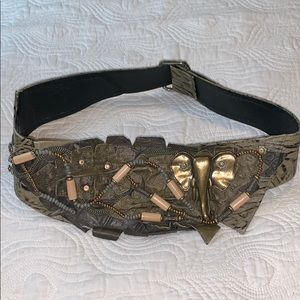 Vintage Selena's Collection Large Belt 1980's
